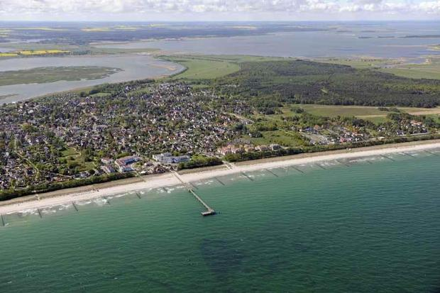 Zingst Baltic seaside health resort