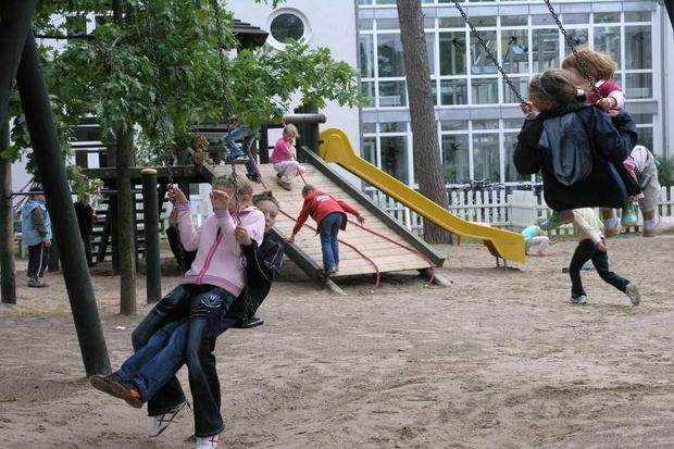 Mutter-Kind-Klinik Baabe, Spielplatz